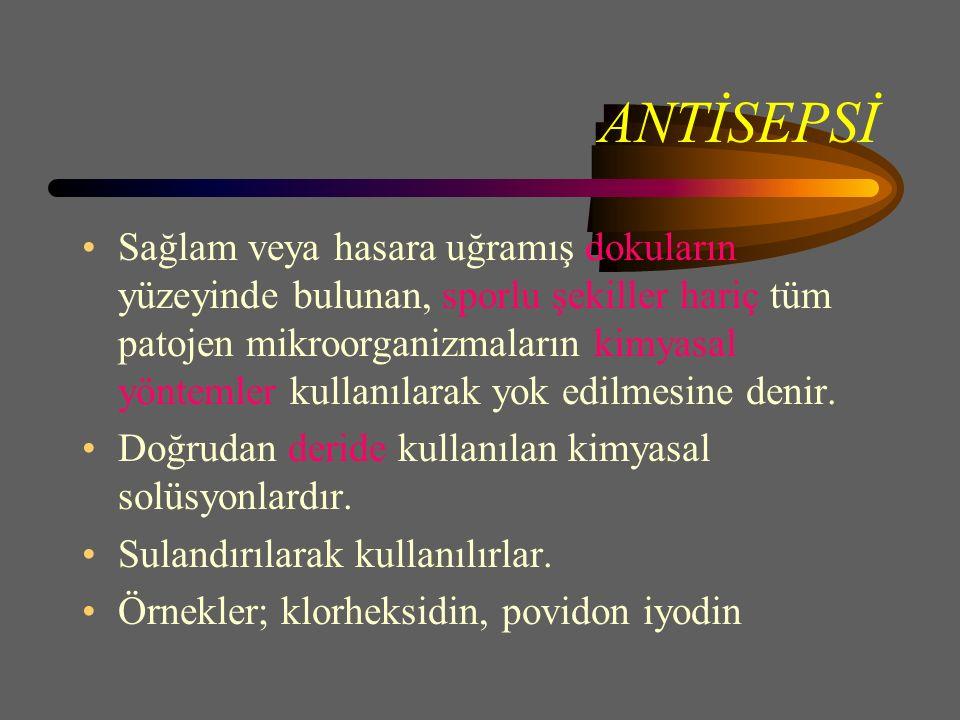 ANTİSEPSİ