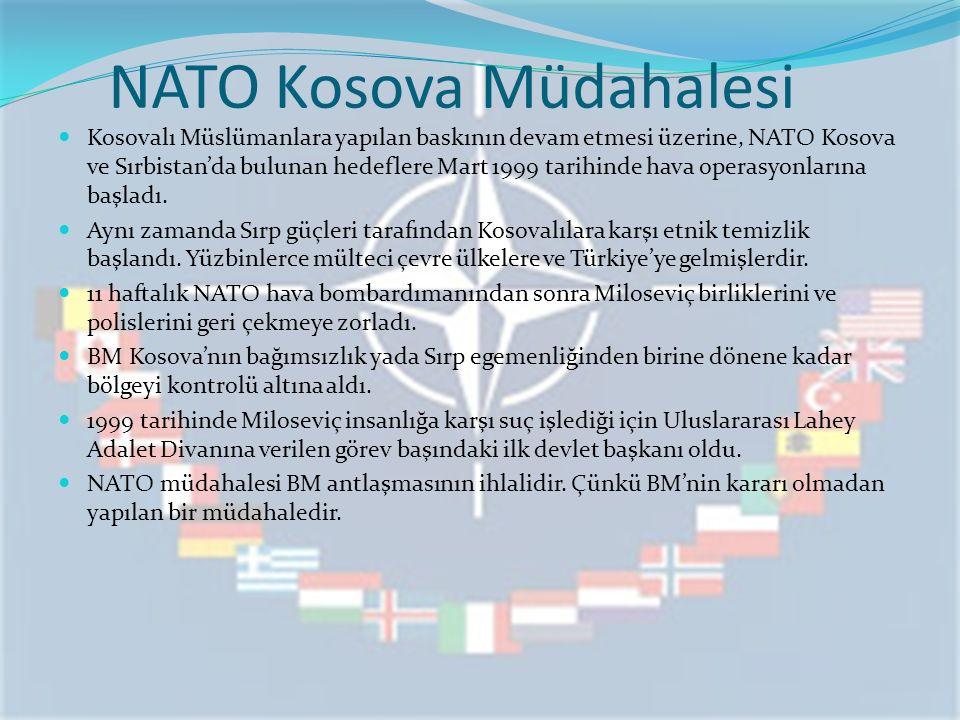 NATO Kosova Müdahalesi