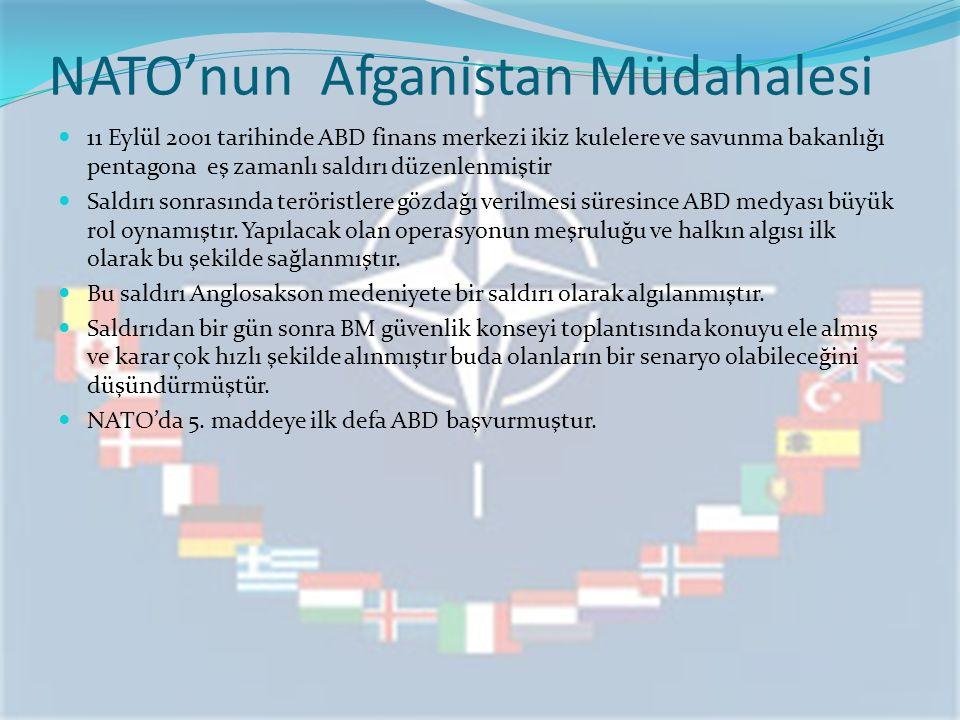 NATO'nun Afganistan Müdahalesi