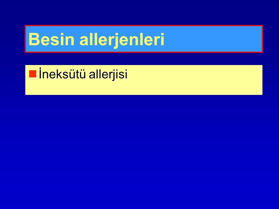 Besin allerjenleri İneksütü allerjisi