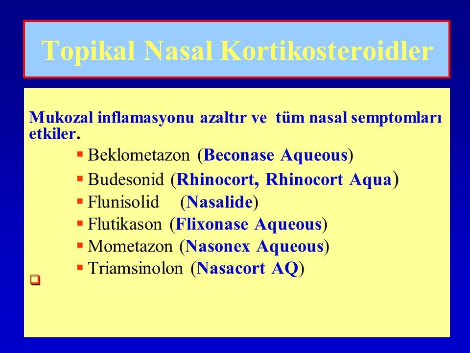 Topikal Nasal Kortikosteroidler