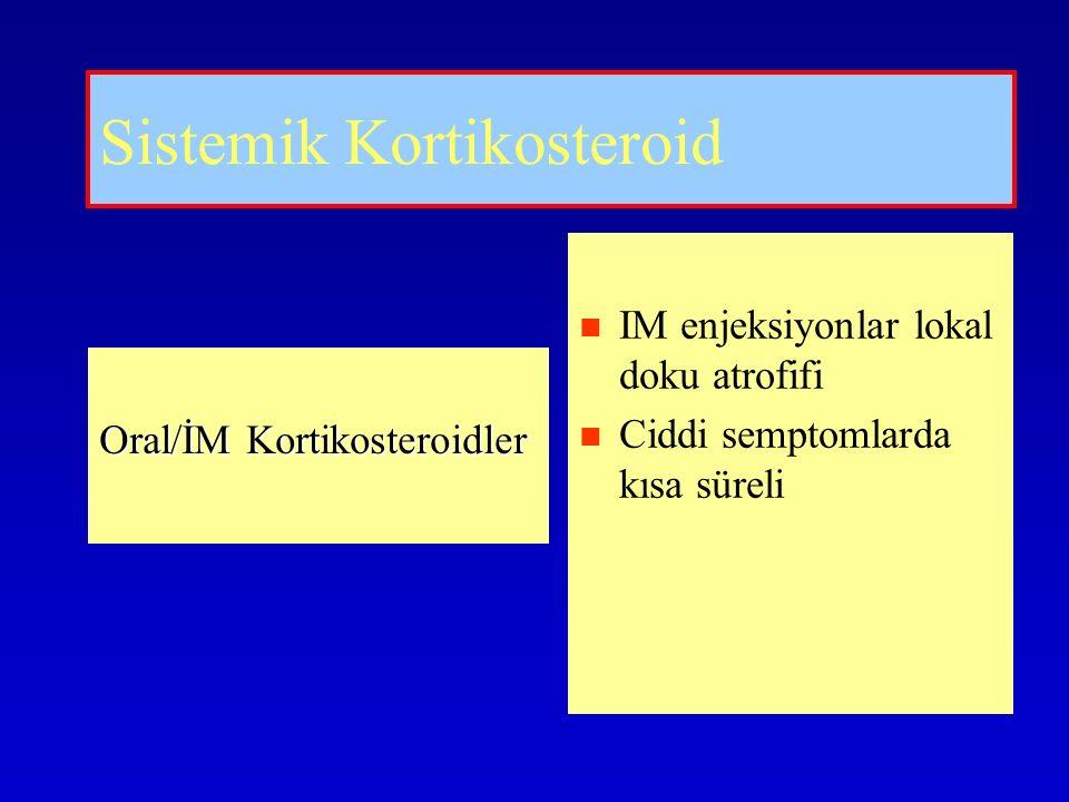 Sistemik Kortikosteroid