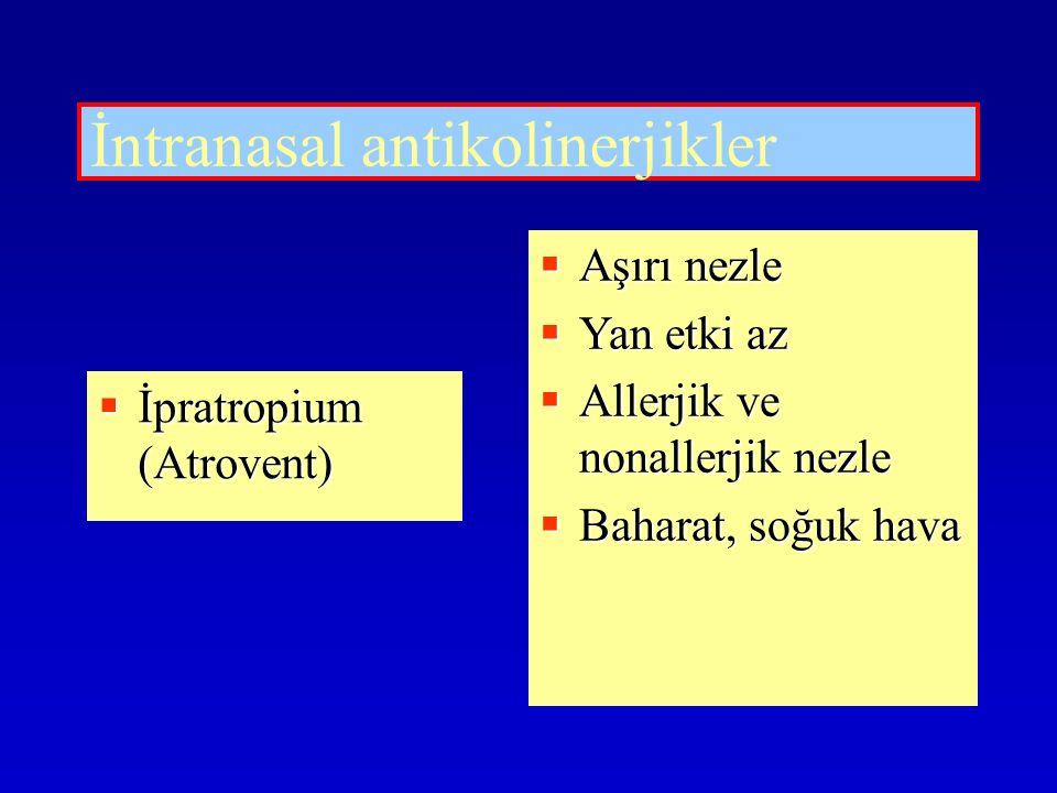 İntranasal antikolinerjikler
