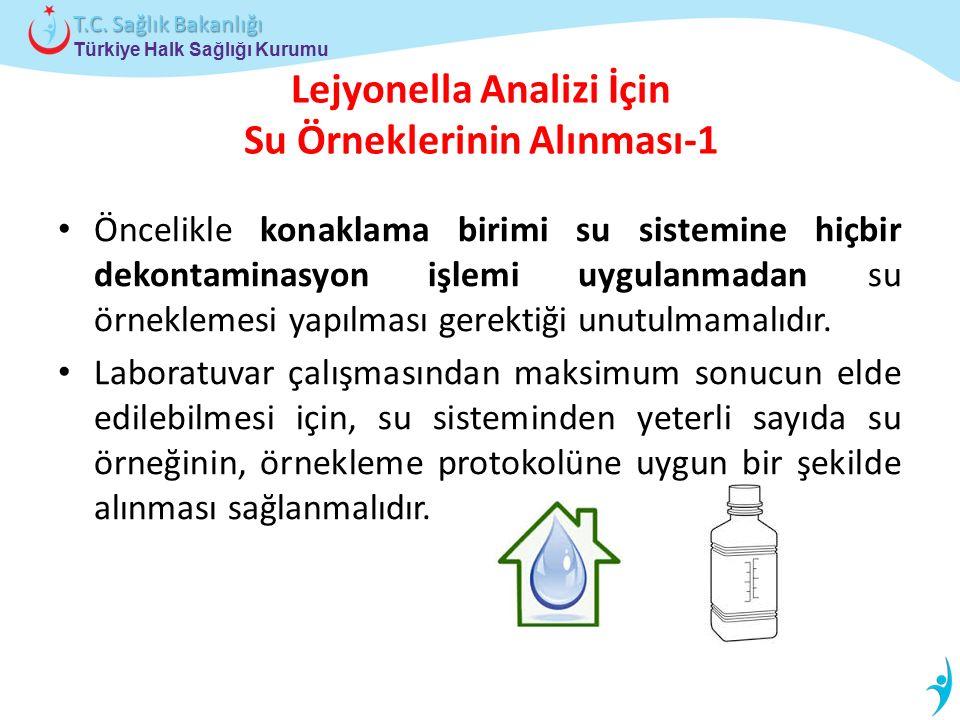 Lejyonella Analizi İçin Su Örneklerinin Alınması-1