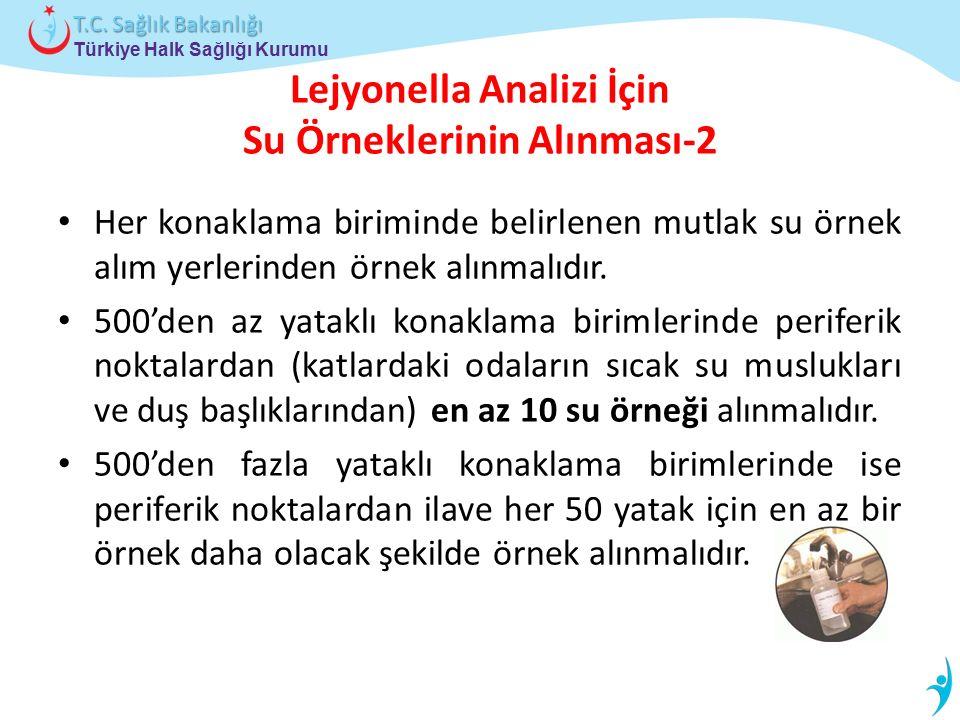 Lejyonella Analizi İçin Su Örneklerinin Alınması-2