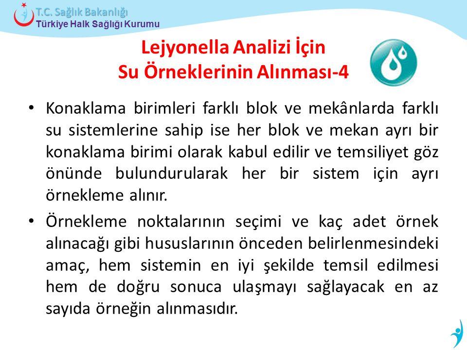Lejyonella Analizi İçin Su Örneklerinin Alınması-4