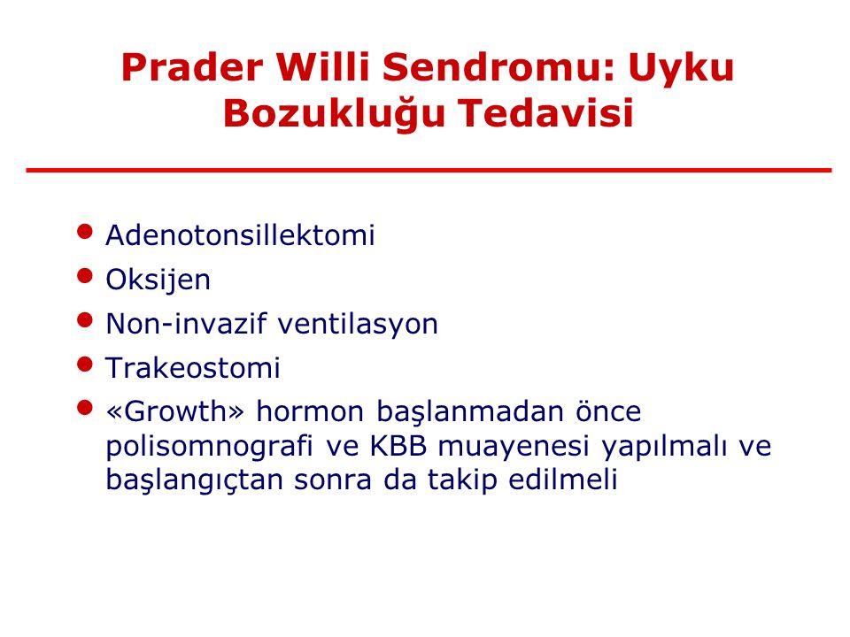 Prader Willi Sendromu: Uyku Bozukluğu Tedavisi