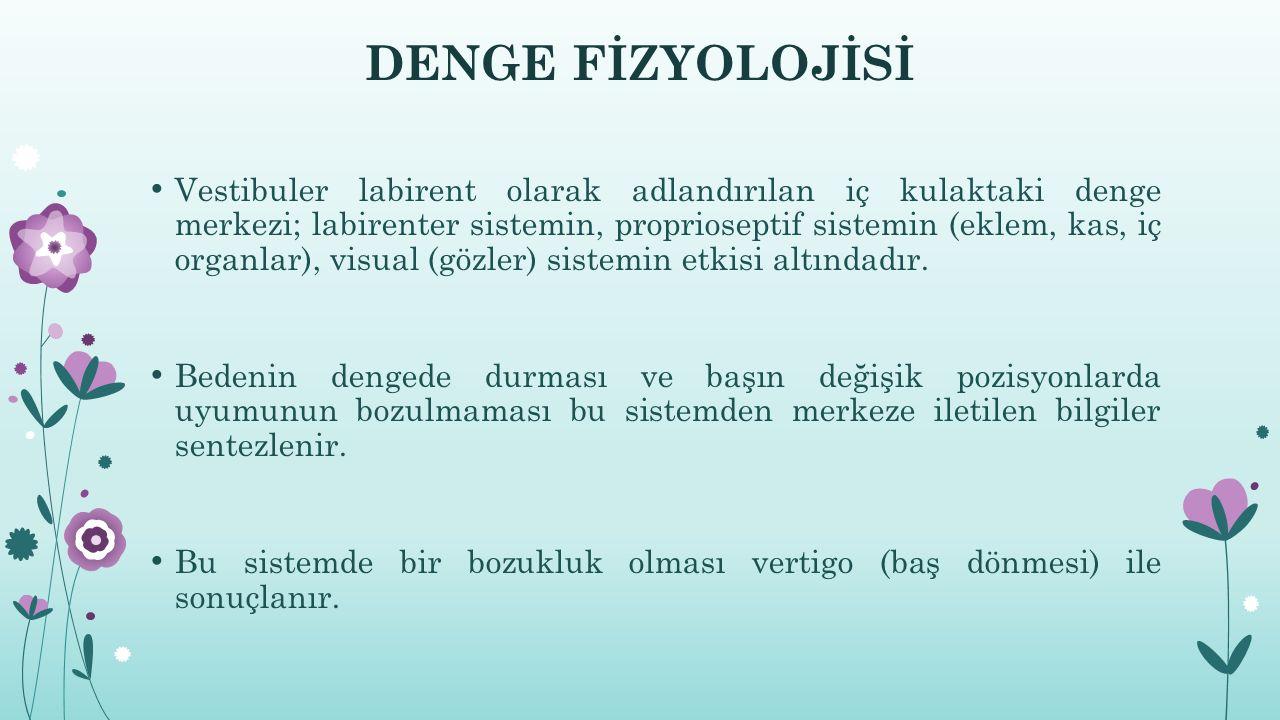 DENGE FİZYOLOJİSİ