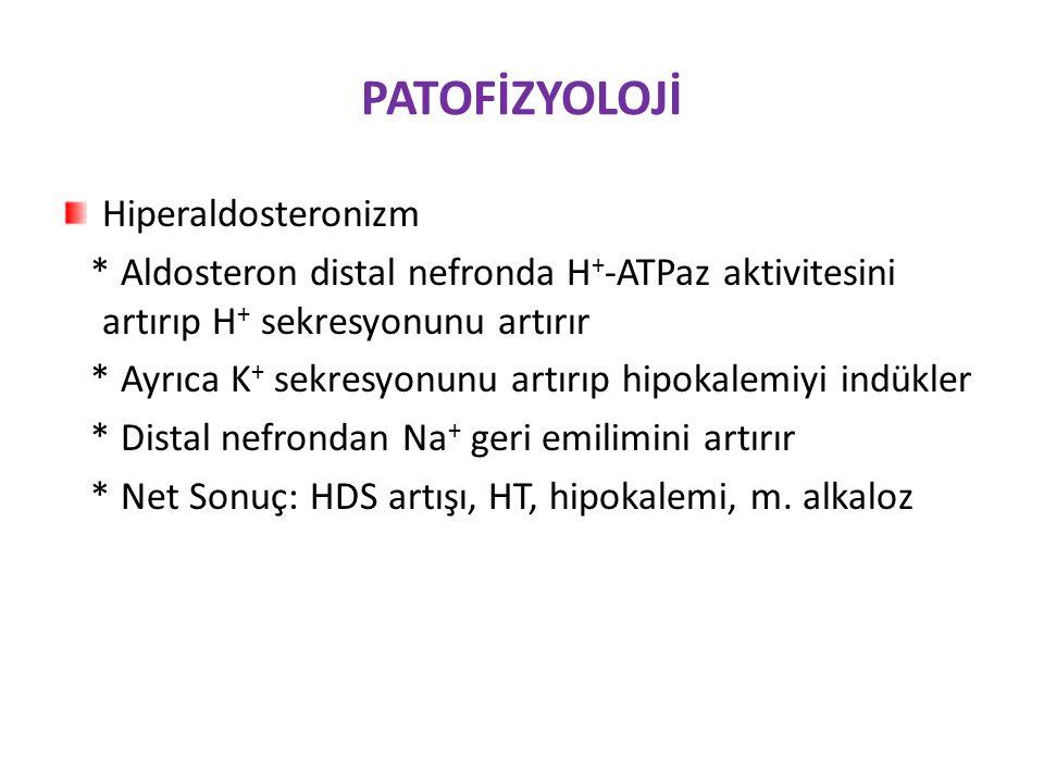 PATOFİZYOLOJİ Hiperaldosteronizm