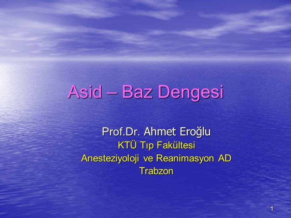 Anesteziyoloji ve Reanimasyon AD