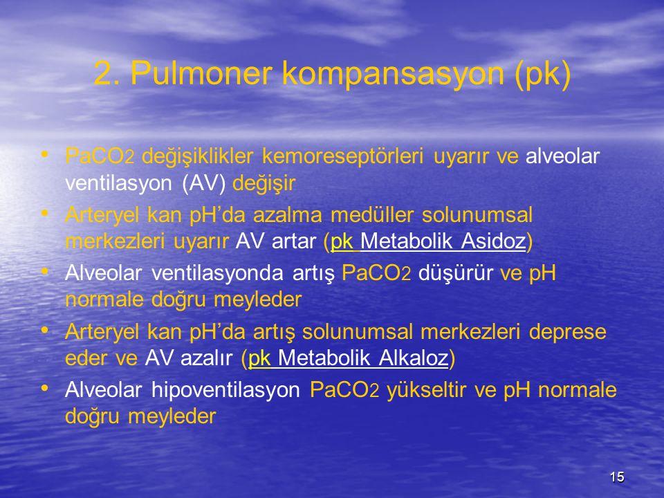 2. Pulmoner kompansasyon (pk)