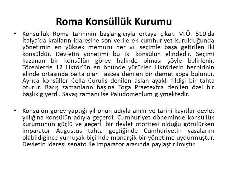 Roma Konsüllük Kurumu