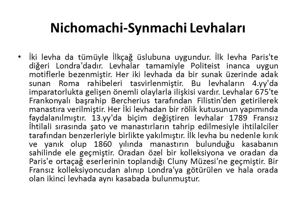 Nichomachi-Synmachi Levhaları