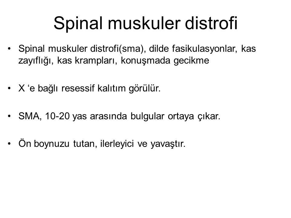 Spinal muskuler distrofi