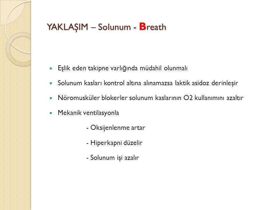 YAKLAŞIM – Solunum - Breath