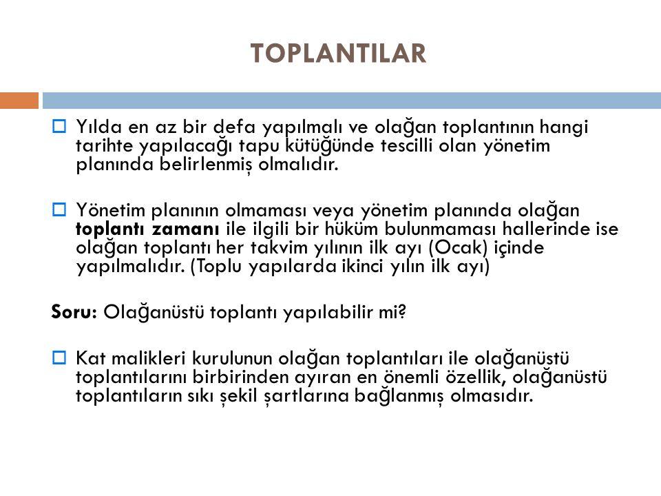 TOPLANTILAR
