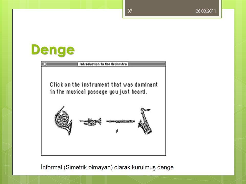 28.03.2011 Denge