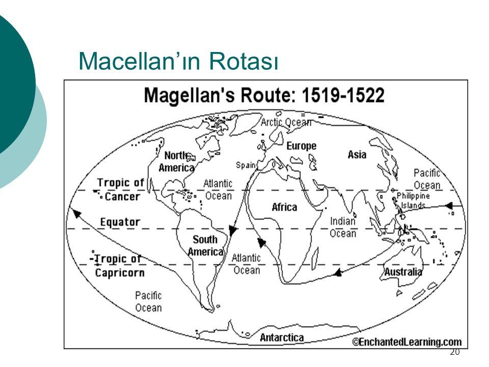 Macellan'ın Rotası