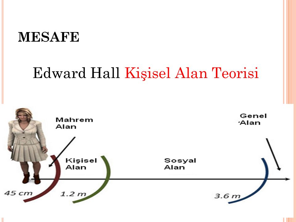 Edward Hall Kişisel Alan Teorisi