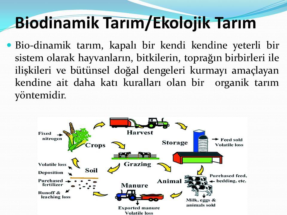 Biodinamik Tarım/Ekolojik Tarım
