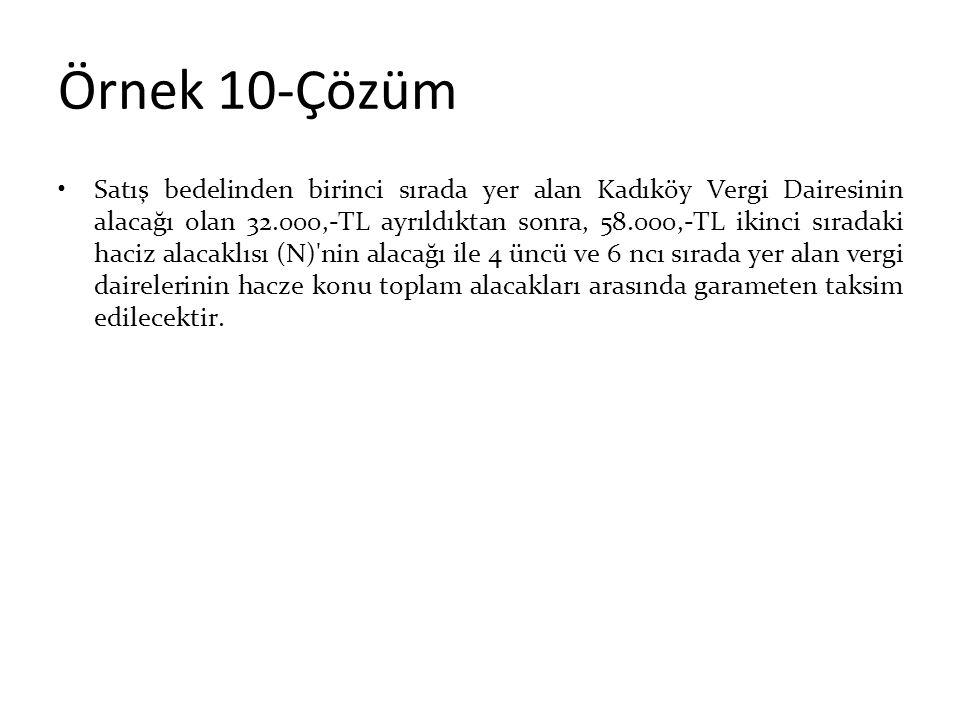 Örnek 10-Çözüm