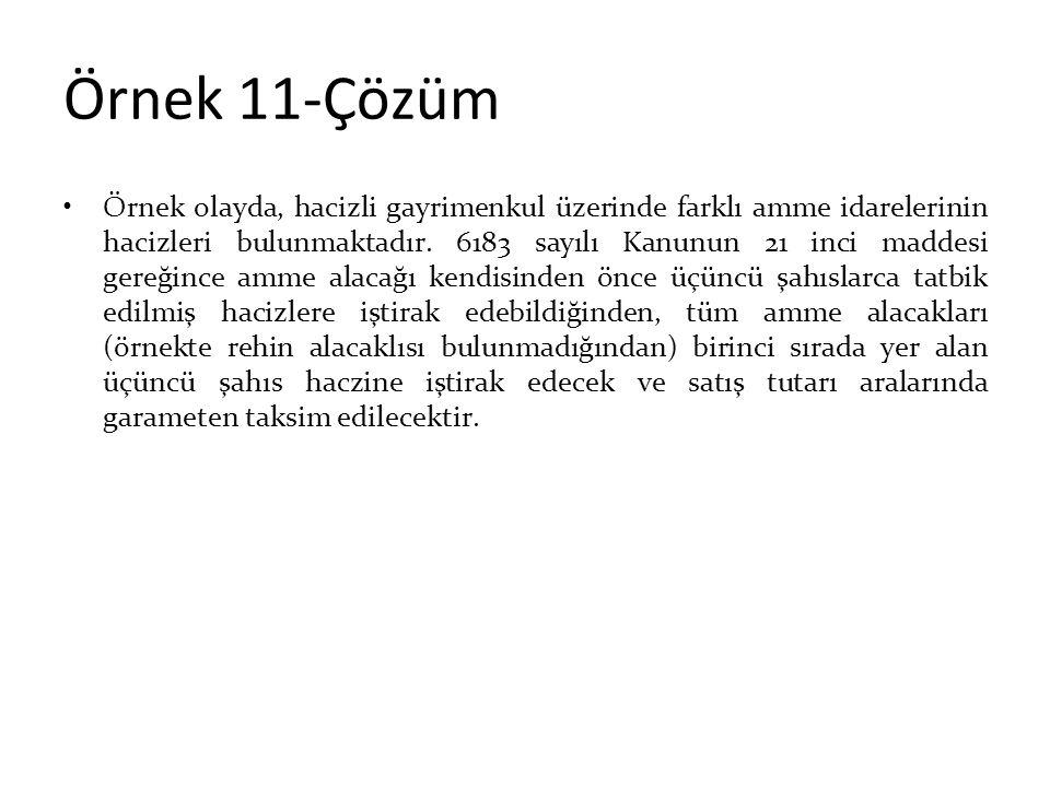 Örnek 11-Çözüm