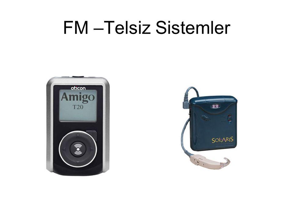 FM –Telsiz Sistemler