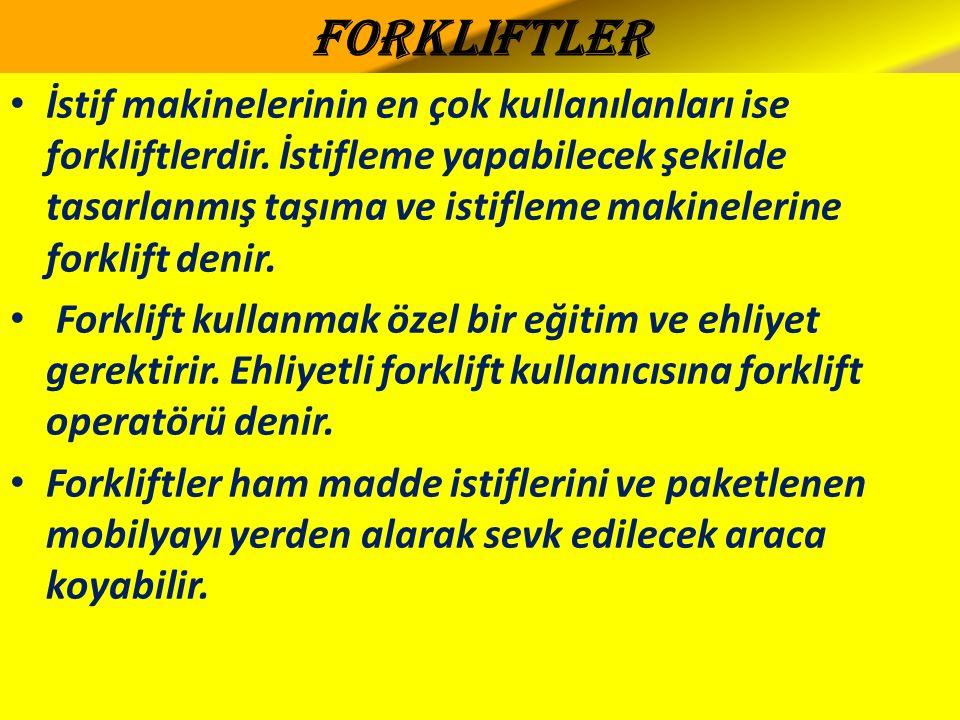 Forkliftler