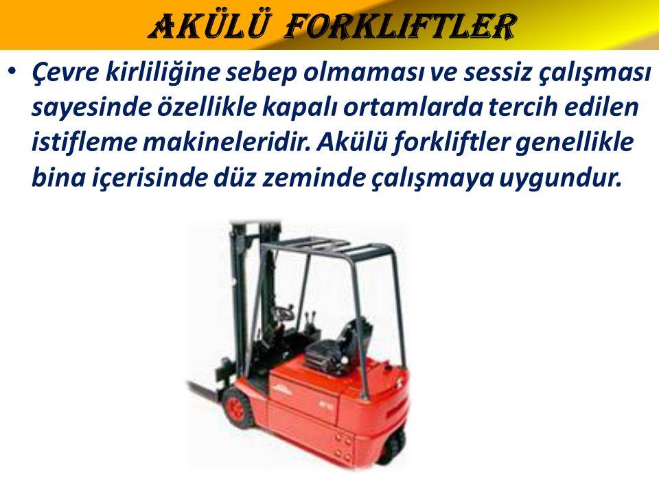 Akülü Forkliftler