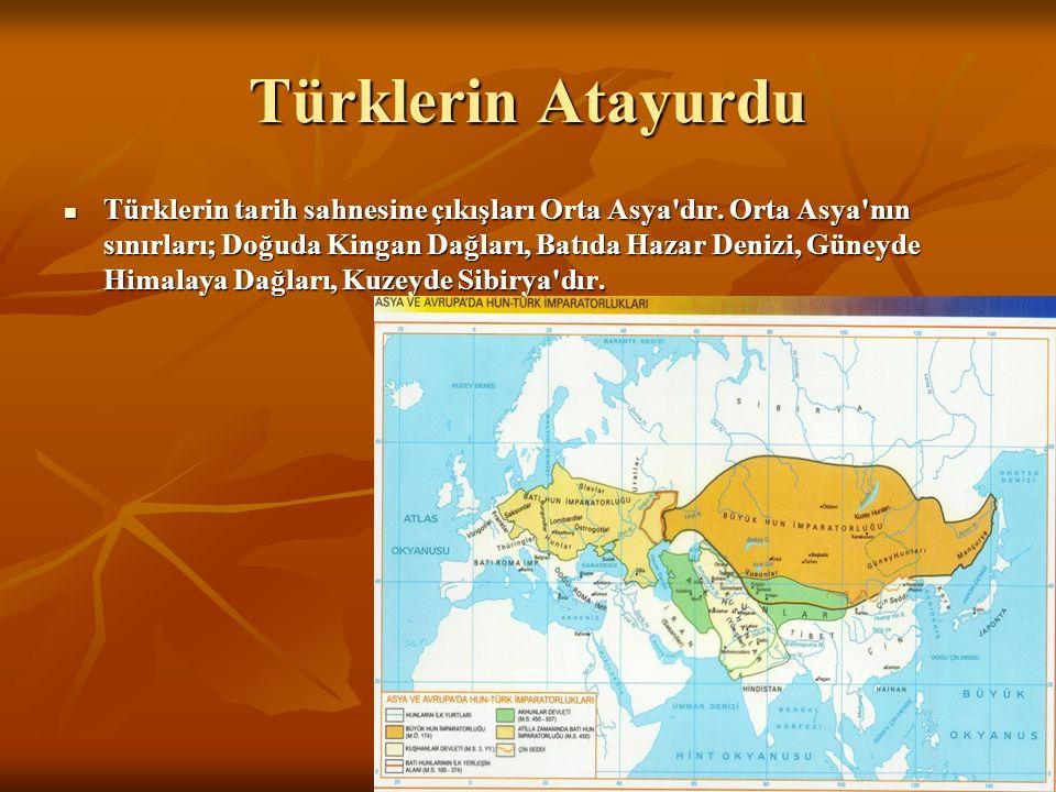 Türklerin Atayurdu