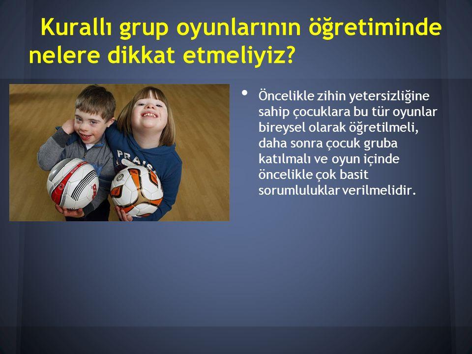 Kurallı grup oyunlarının öğretiminde nelere dikkat etmeliyiz