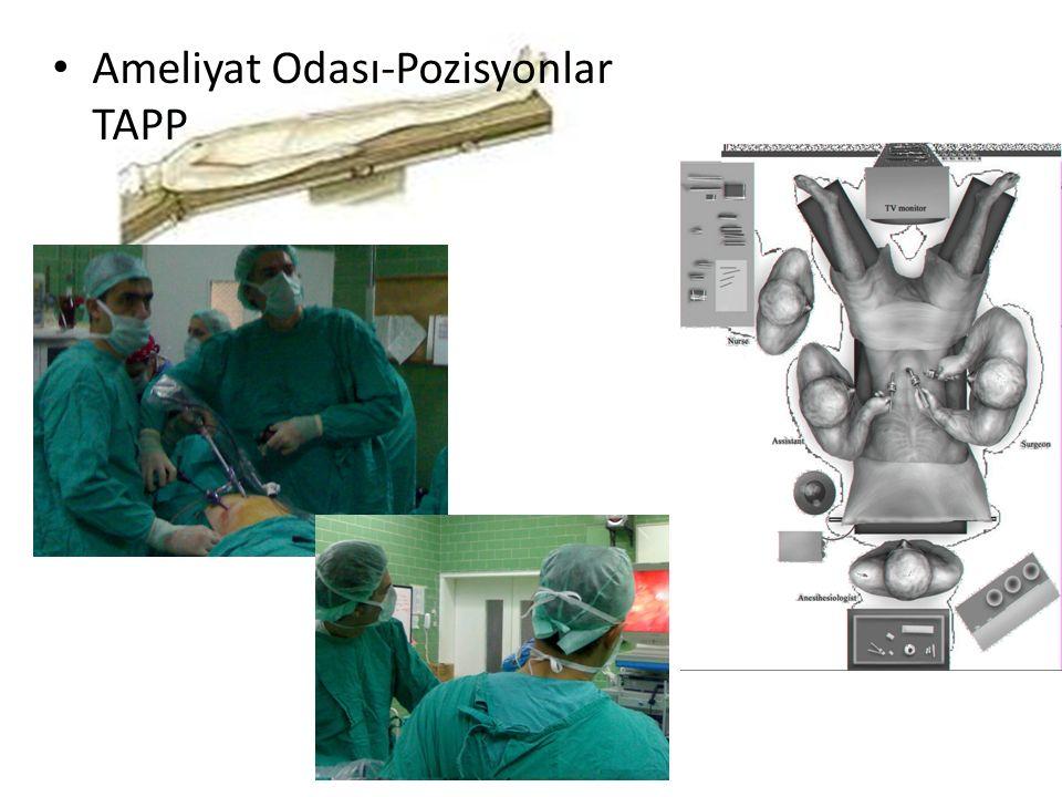 Ameliyat Odası-Pozisyonlar TAPP