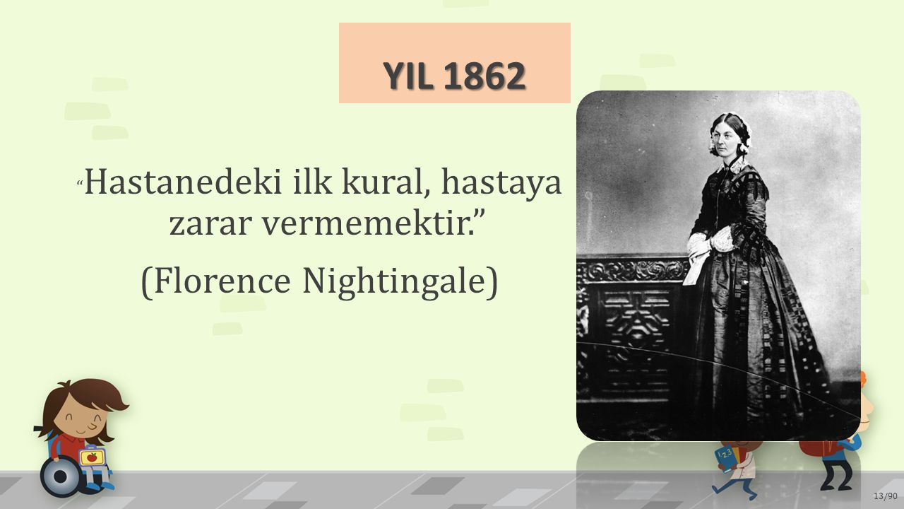 YIL 1862 (Florence Nightingale)