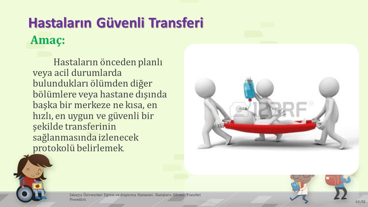 Hastaların Güvenli Transferi
