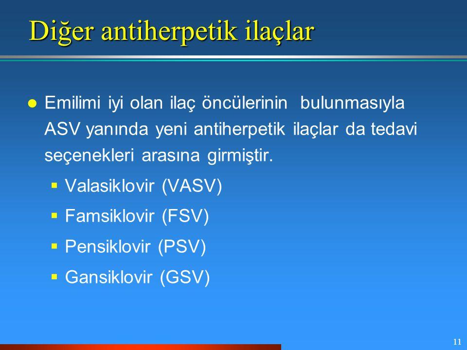 Diğer antiherpetik ilaçlar