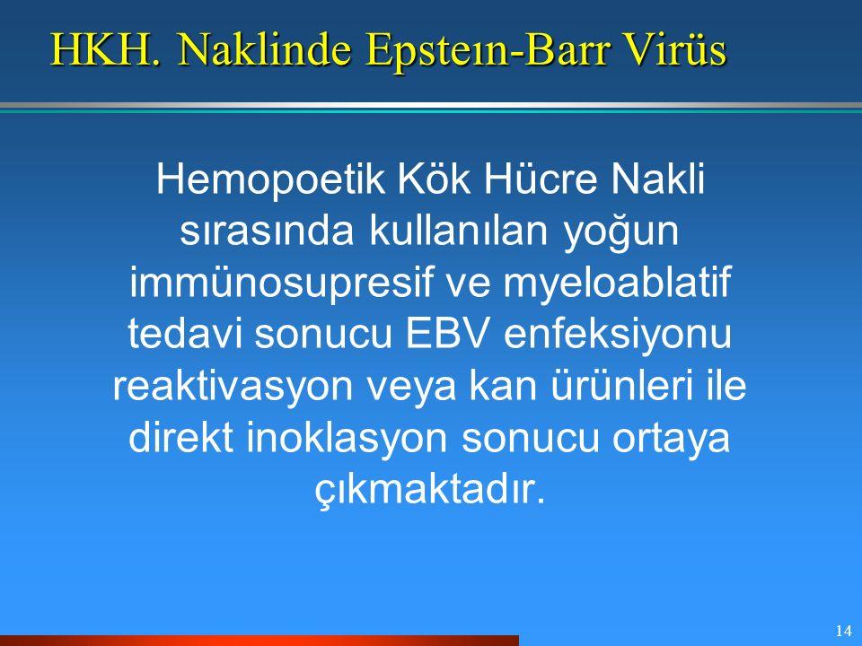 HKH. Naklinde Epsteın-Barr Virüs