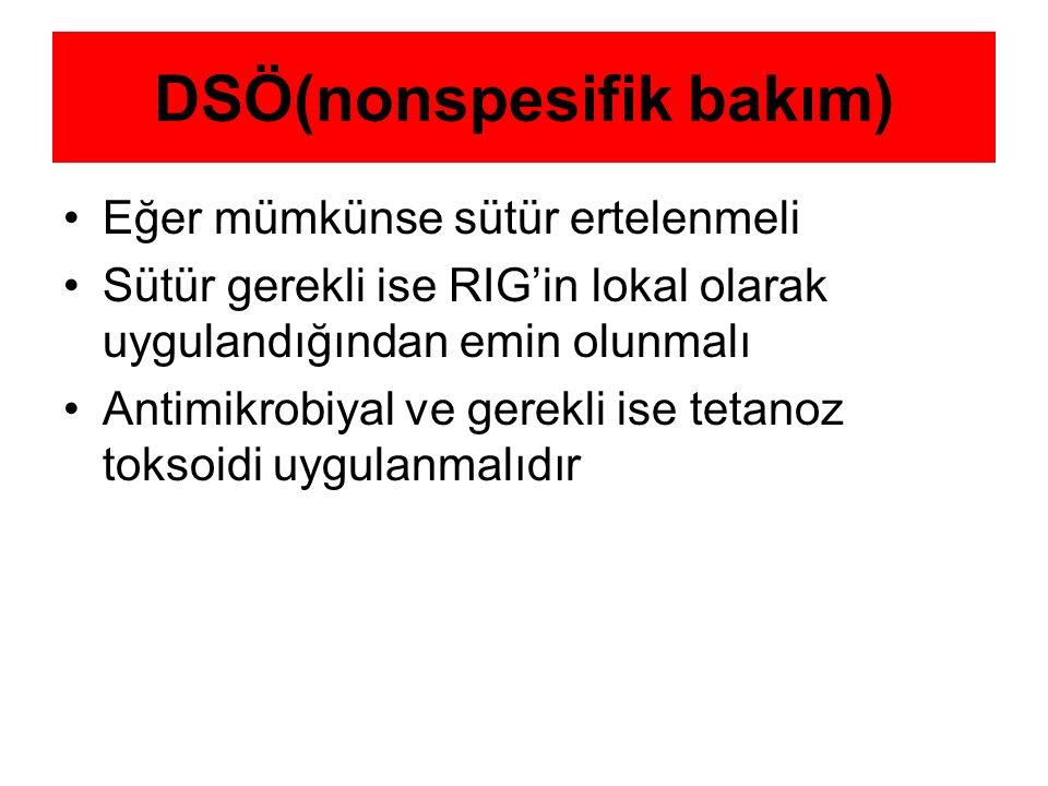 DSÖ(nonspesifik bakım)