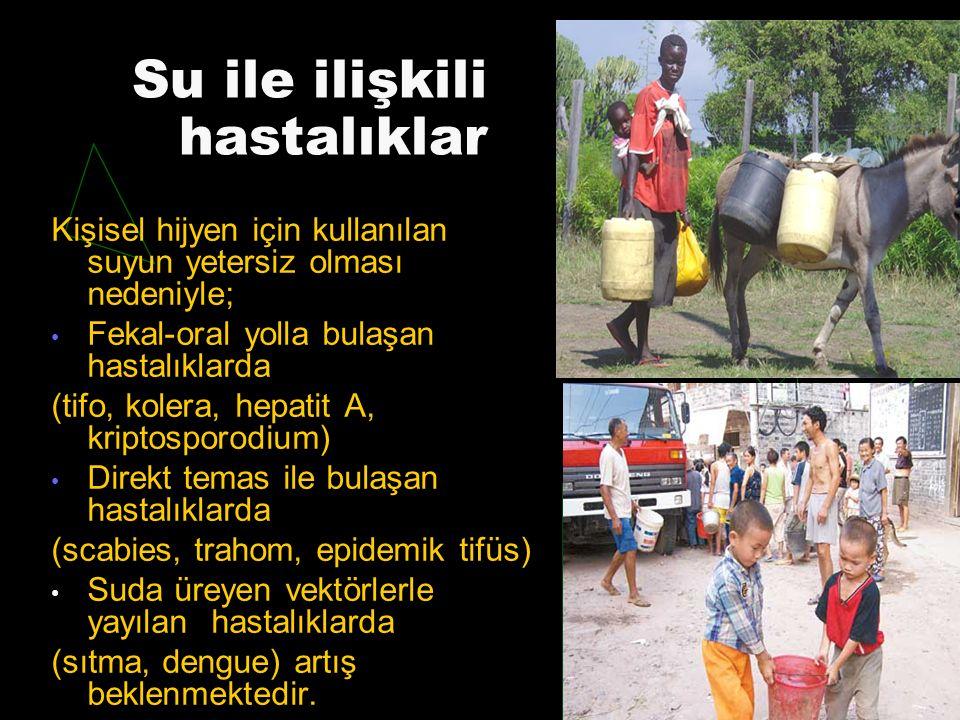 Su ile ilişkili hastalıklar