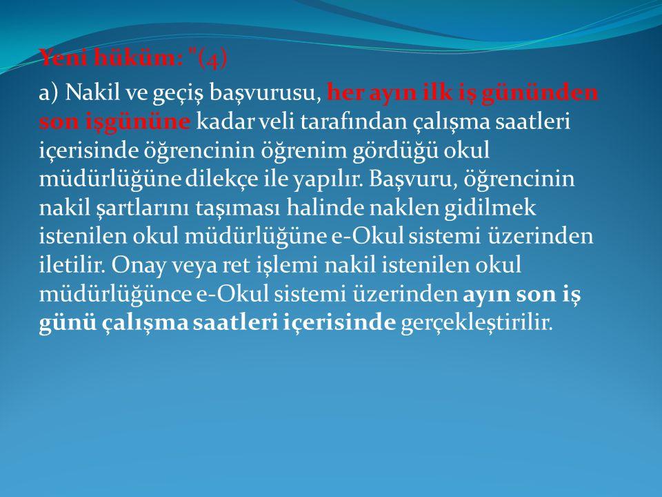 Yeni hüküm: (4)