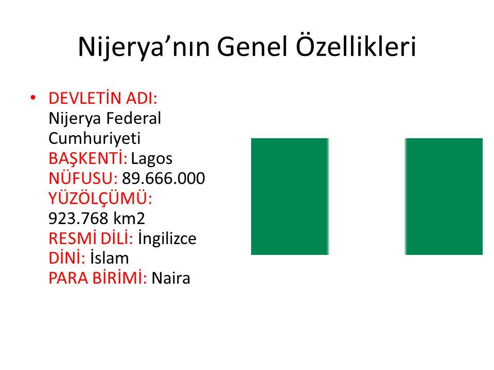 Nijerya'nın Genel Özellikleri