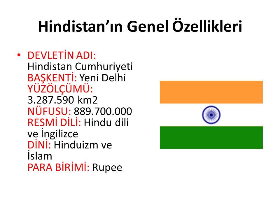Hindistan'ın Genel Özellikleri