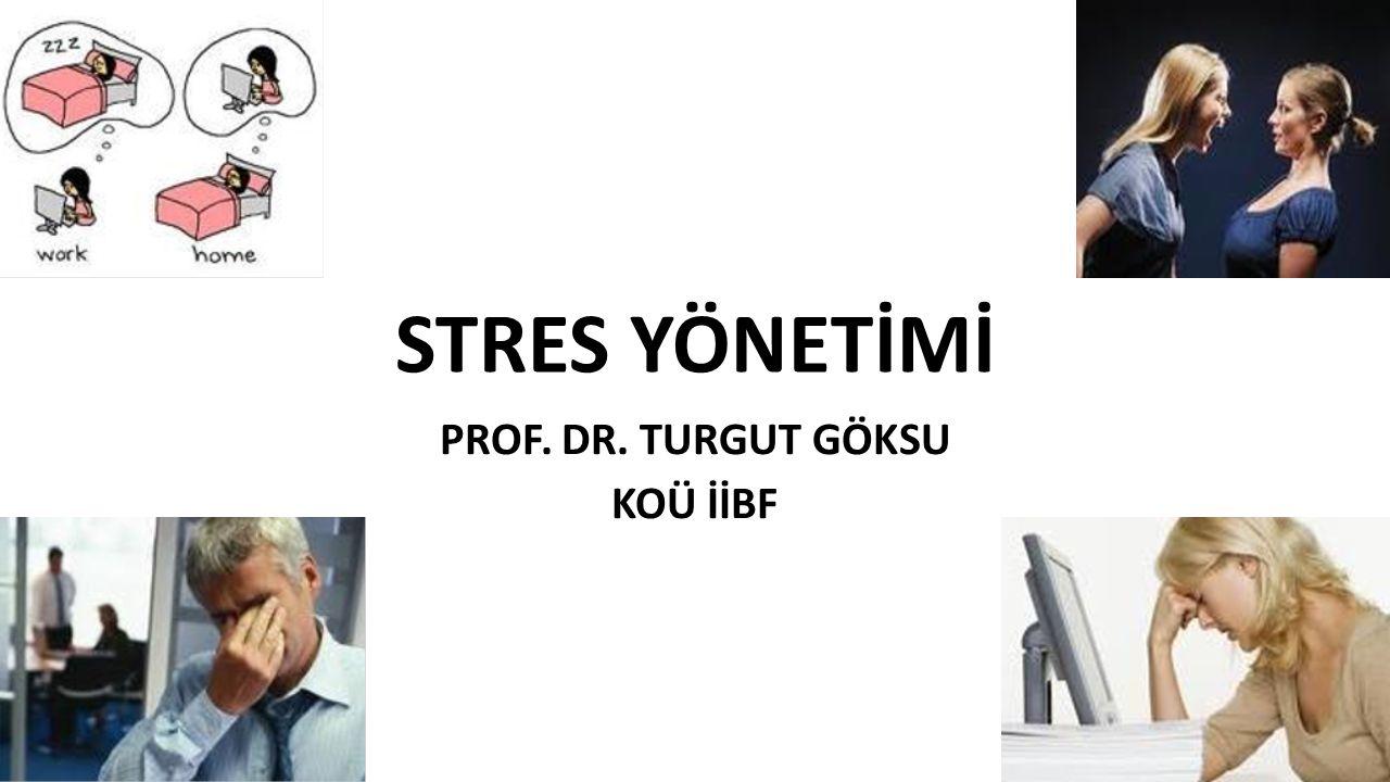 PROF. DR. TURGUT GÖKSU KOÜ İİBF