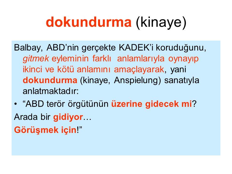 dokundurma (kinaye)