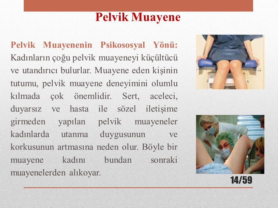 Pelvik Muayene