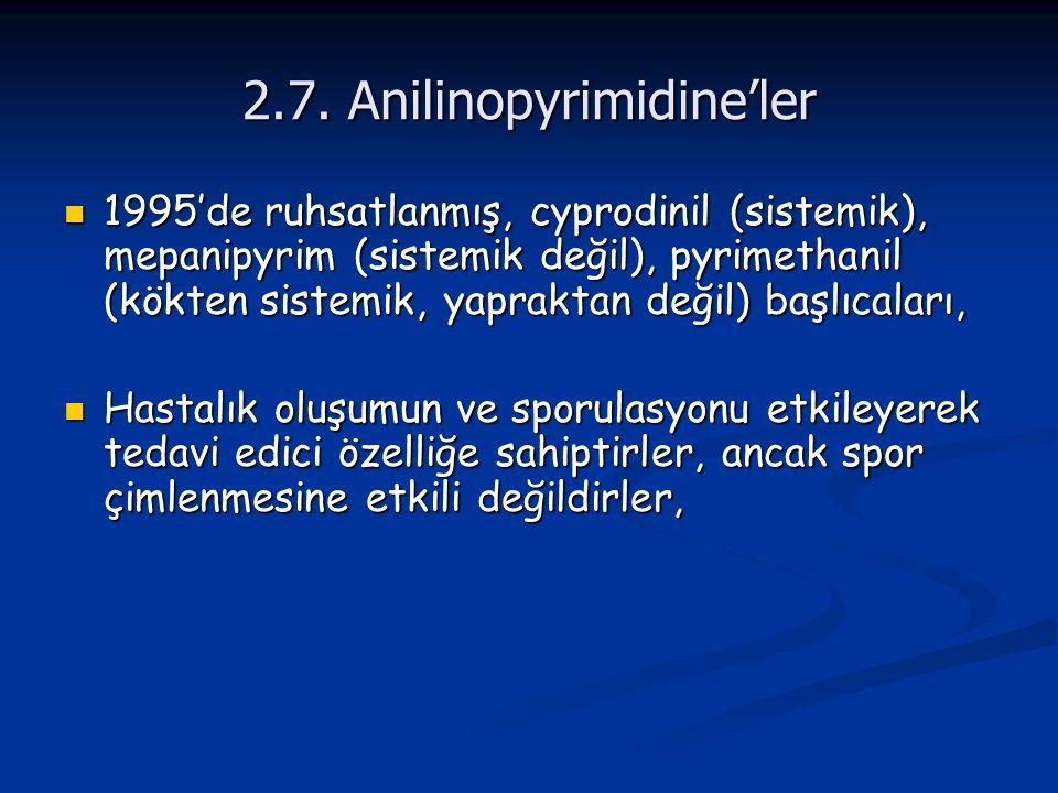 2.7. Anilinopyrimidine'ler