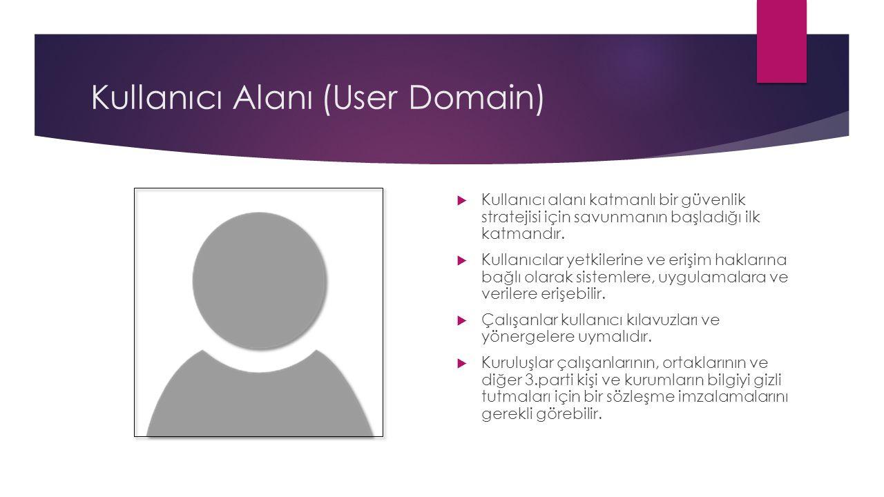 Kullanıcı Alanı (User Domain)
