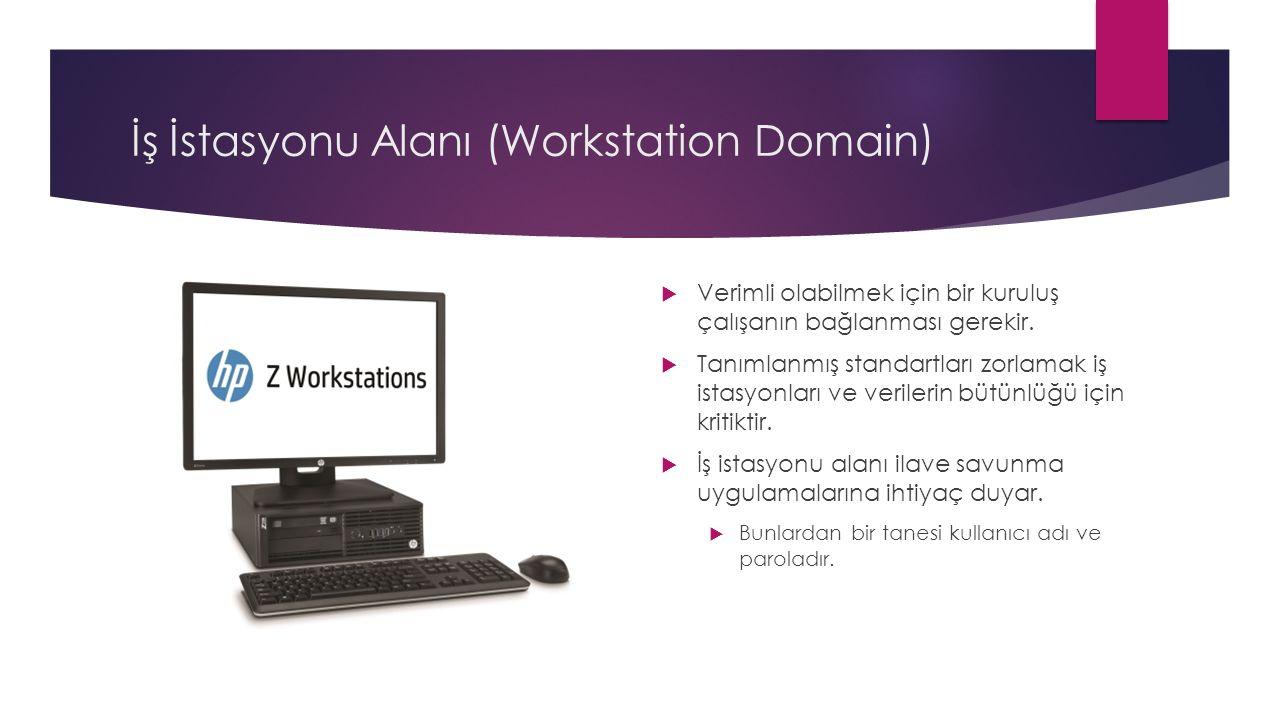 İş İstasyonu Alanı (Workstation Domain)