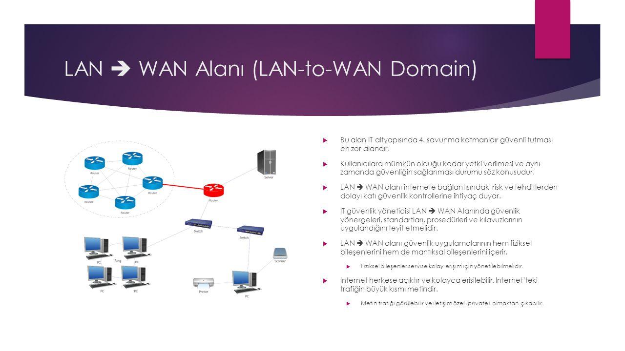 LAN  WAN Alanı (LAN-to-WAN Domain)