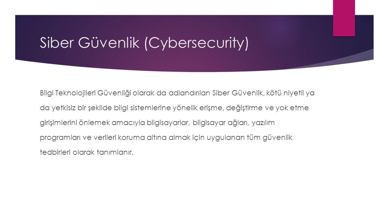 Siber Güvenlik (Cybersecurity)