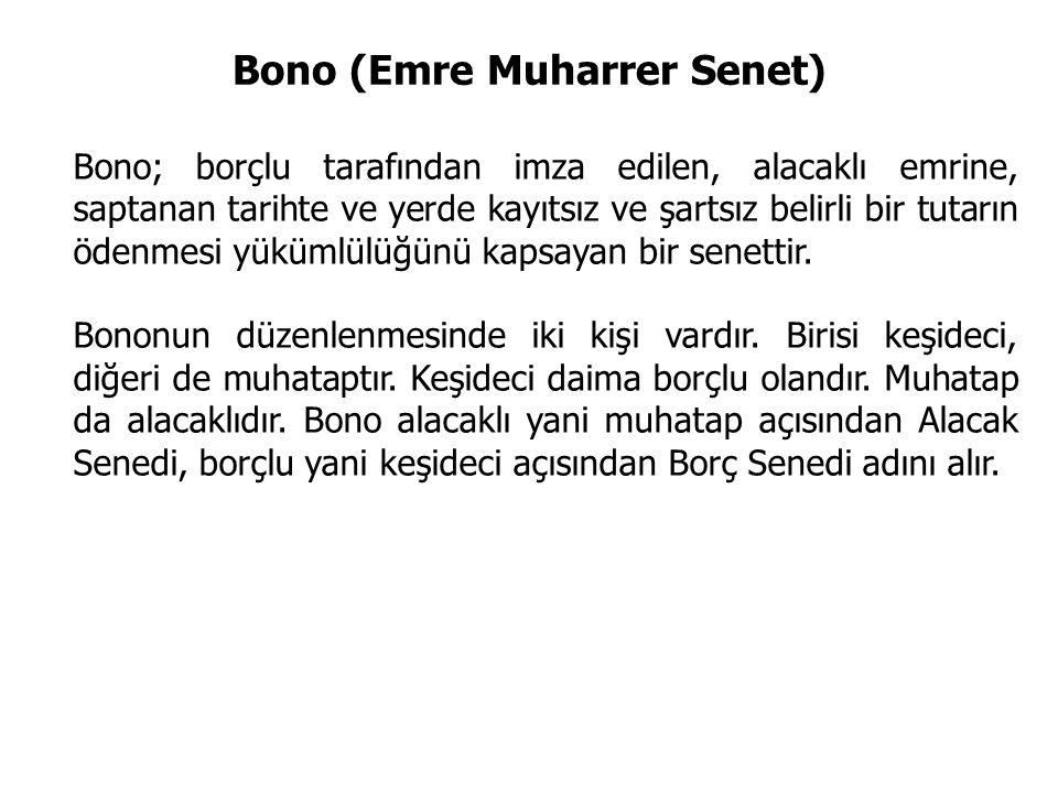 Bono (Emre Muharrer Senet)
